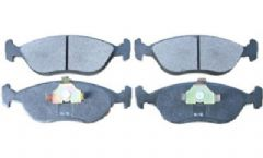 Volvo 400, 440, 460, 480 (92-) Front Brake Pads (with Vented Discs)